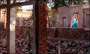 Destroyed Ahmadi mosque